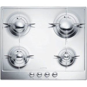 "Smeg60CM (approx 24"") ""Piano Design"" Gas Cooktop, Polished Stainless Steel*"