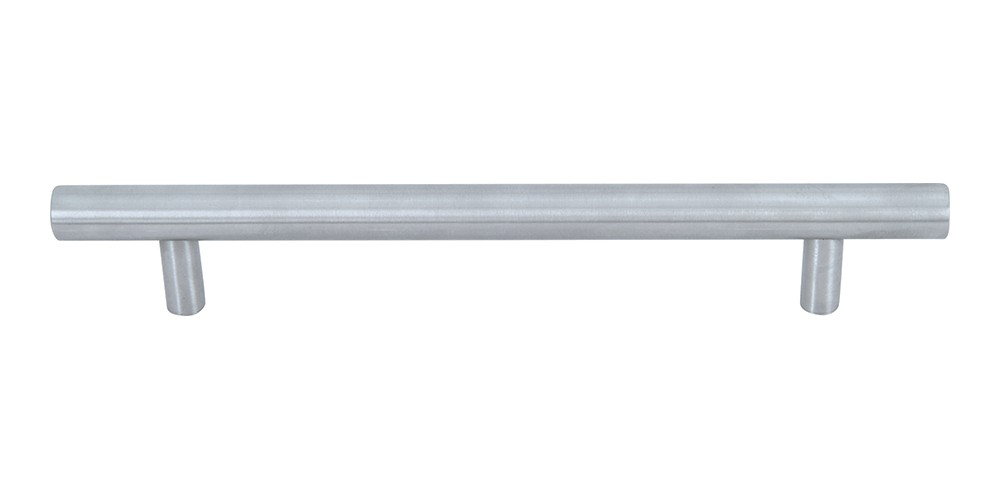 Linea Rail Pull 6 5/16 Inch (c-c) - Brushed Nickel