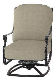 Grand Terrace Cushion High Back Swivel Rocking Lounge Chair