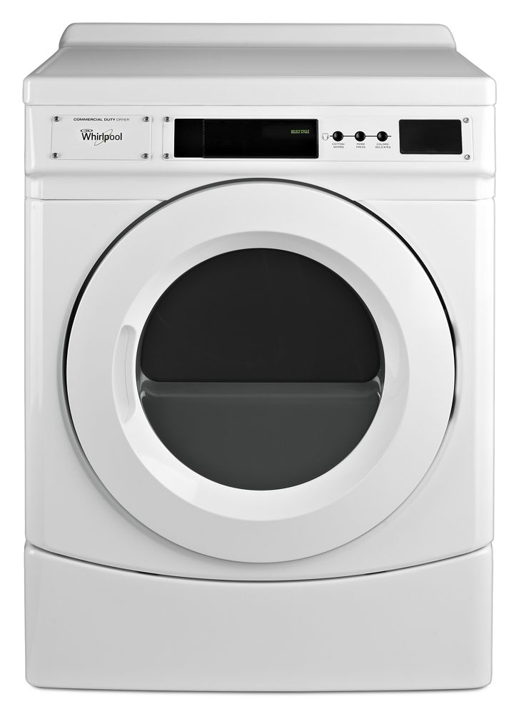 "27"" Commercial Electric Front-Load Dryer, Non-Vend