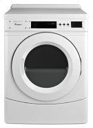 """27"""" Commercial Electric Front-Load Dryer, Non-Vend Product Image"""