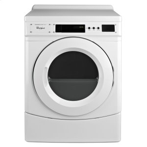 "Whirlpool27"" Commercial Electric Front-Load Dryer, Non-Vend"
