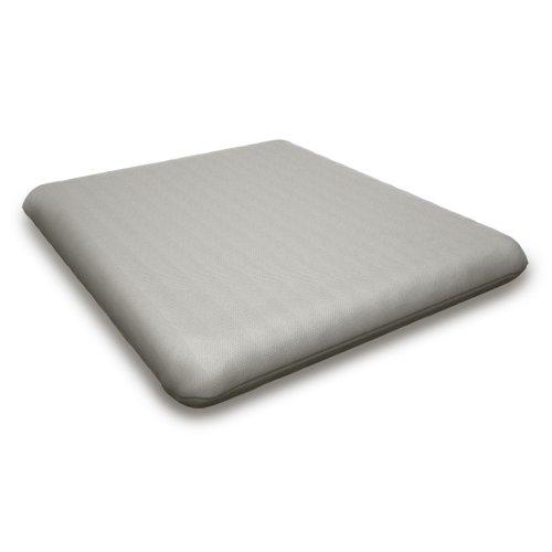 """Blend Coal Seat Cushion - 16""""D x 17.25""""W x 2.5""""H"""