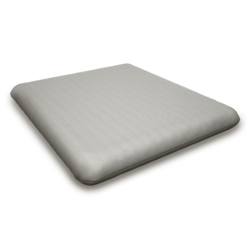 "Sancy Shale Seat Cushion - 16""D x 17.25""W x 2.5""H"