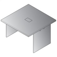"Expandable 48""x48"" Table Component"