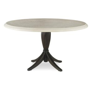 "Archipelago Dining Table Base W/ 54"" Grc Round Top"