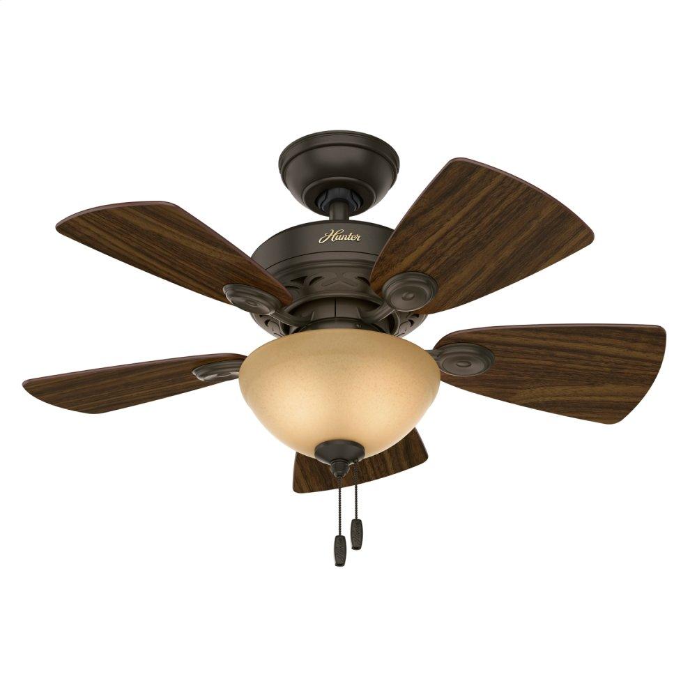 Watson with Light 34 inch Ceiling Fan  NEW BRONZE