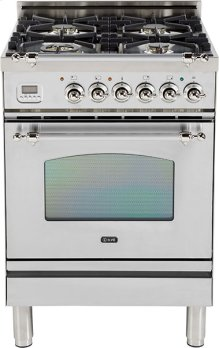 "Stainless Steel - Nostalgie 24"" Gas Range"