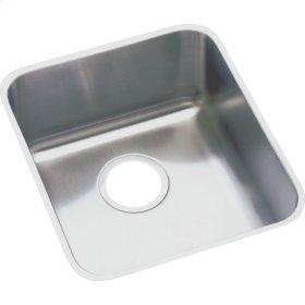 "Elkay Lustertone Classic Stainless Steel 18-1/2"" x 18-1/2"" x 7-7/8"", Single Bowl Undermount Sink"