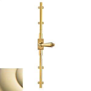 Lifetime Polished Brass Cremone Bolt Product Image