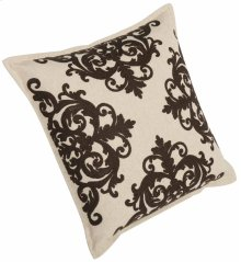 """Luxe Pillows Embroidery with Flange (22"""" x 22"""")"""