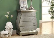ACCENT CHEST - BRUSHED GOLD VENEER CONTEMPORARY STYLE