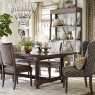 """Compass 94"""" Trestle Dining Table Product Image"""