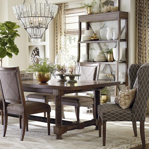 Compass 94 Trestle Dining Table