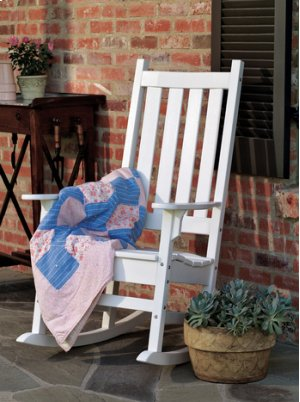 Traditional Porch Rocker Assembled (036)