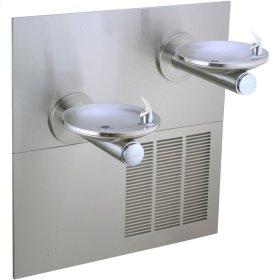 Elkay SwirlFlo Fountain Bi-Level Reverse ADA Non-Filtered, 8 GPH Stainless