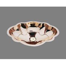 B1822 - Marie Antoinette Lavatory - Antique Brass