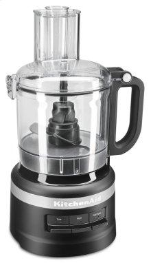 7 Cup Food Processor - Black Matte