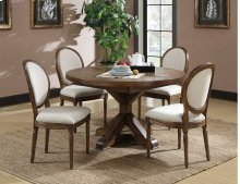Emerald Home Chambers Creek Round Dining Table Brown D412-12base