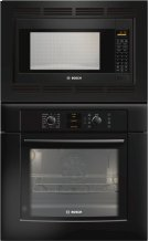 "30"" Combination Wall Oven 500 Series - Black HBL5760UC Product Image"