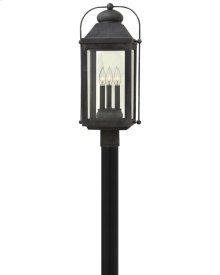 Anchorage Large Post Top or Pier Mount Lantern