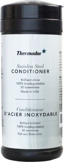 Thermador Stainless Steel Conditioner (wipes)