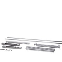79'' Louvered or 75'' Collar Stainless Steel Trim Kit