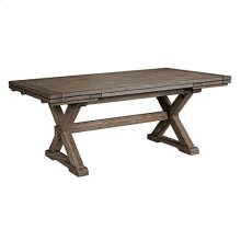 Foundry Saw Buck Dining Table