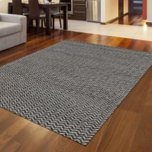 "Radici Bellissima 7 Gray/Silver Rectangle 2'0""X3'0"""