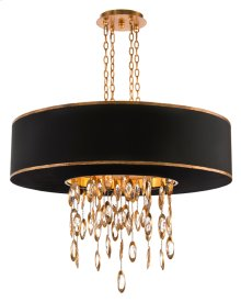 Black Tie Eleven-Light Chandelier