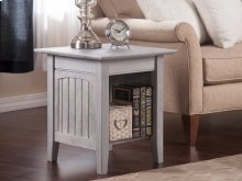 Nantucket End Table Driftwood Grey