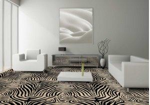 Wildlife Plains Zebra Wld04 Ivory-b 13'2''