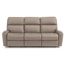 Rio Fabric Power Reclining Sofa