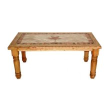 5' Marble Table W/star