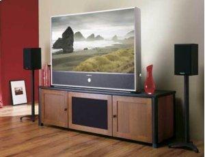 "Black Euro Series 28"" tall for small to medium bookshelf speakers"
