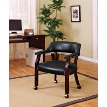 Modern Black Guest Chair