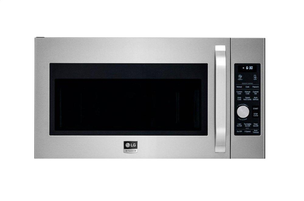 LG AppliancesLg Studio 1.7 Cu. Ft. Over-The-Range Convection Microwave Oven