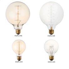Light Bulbs  gold G125 29 anchors 40W