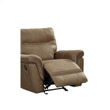 Boardwalk Manual Rocker Recliner, Brown