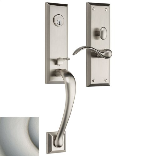 Satin Nickel with Lifetime Finish Cody 3/4 Escutcheon Trim