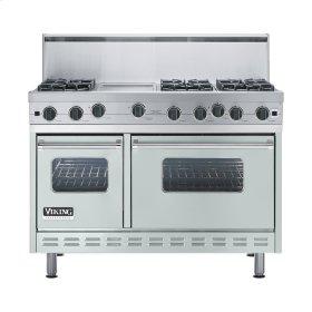 "Sea Glass 48"" Open Burner Range - VGIC (48"" wide, six burners 12"" wide griddle/simmer plate)"