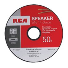 RCA 50 Ft. 14-Gauge Speaker Wire