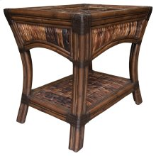 Lamp Table, Available in Abaca or Seagrass Finish.