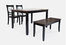 Asbury Park X Back Chair (2/ctn) - Black/autumn