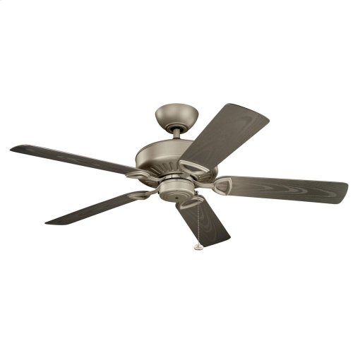 "Enduro Climates 52"" Fan Antique Satin Silver"
