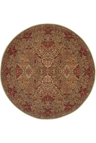 Empress Kirman - Round 8ft 8in x 8ft 8in