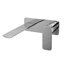 Sento Wall-Mounted Lavatory Faucet w/Single Handle
