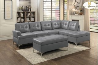 Barrington Ottoman Grey