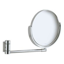 Cosmetic mirror - chrome-plated