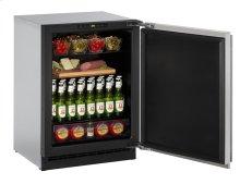"2000 Series 24"" Solid Door Refrigerator With Integrated Solid Finish and Field Reversible Door Swing (115 Volts / 60 Hz)"